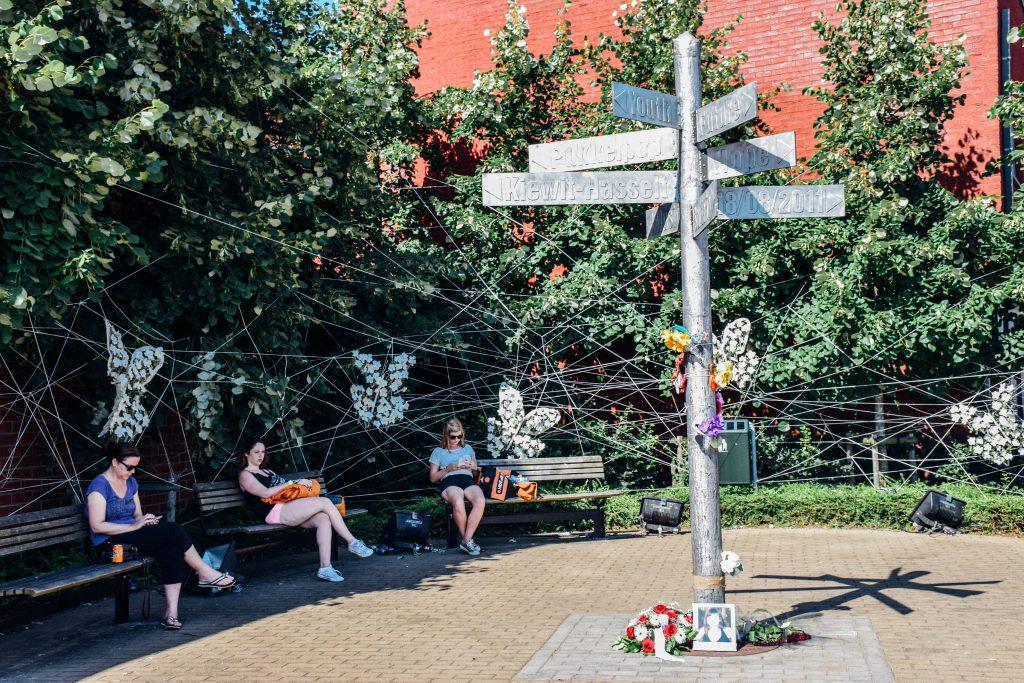 Een blijvend monument en een sterke herinnering. Pukkelpop 2011 en zijn slachtoffers worden niet vergeten. © Kriskras Kiewit