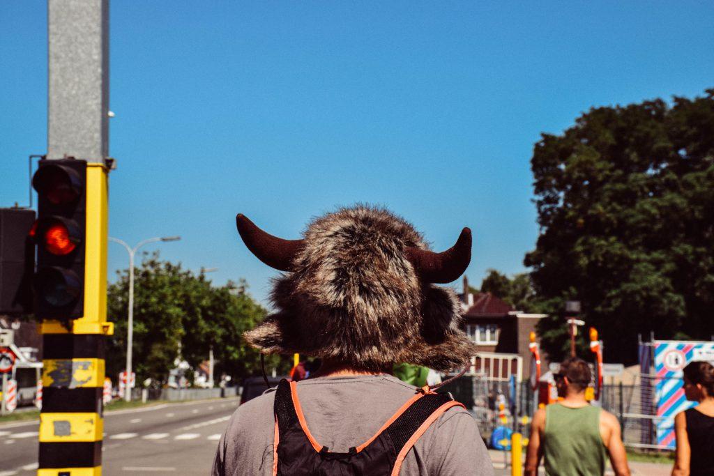 Wie zei dat het een warme, zonnige dag zou worden? © Kriskras Kiewit